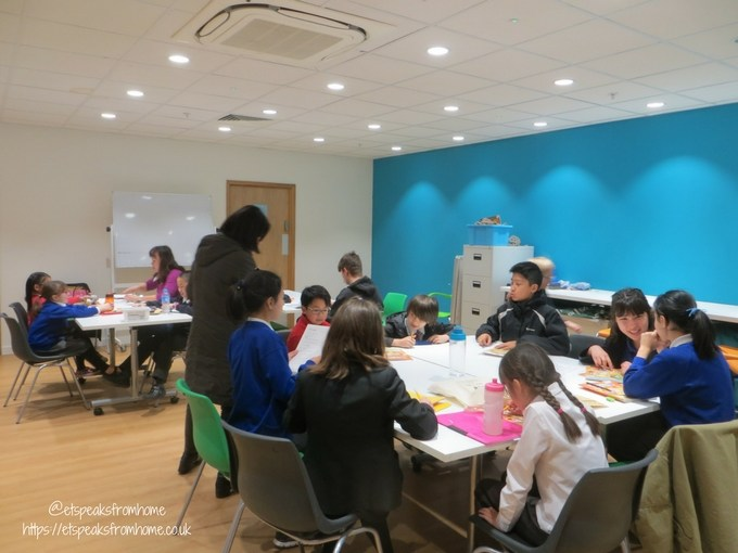 Chinese Easter Word Hunt with Peter Rabbit chinese club