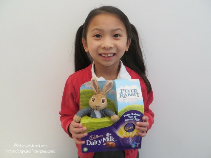 Chinese Easter Word Hunt with Peter Rabbit soft toy