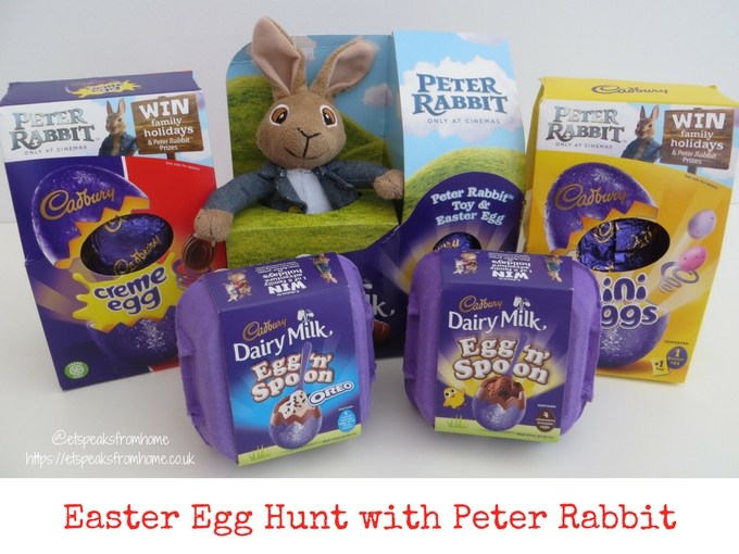 Chinese Easter Word Hunt with Peter Rabbit