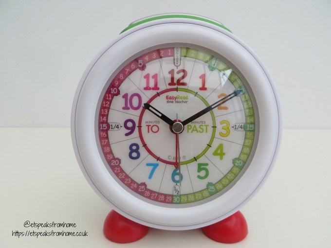 EasyRead Time Teacher alarm clock face
