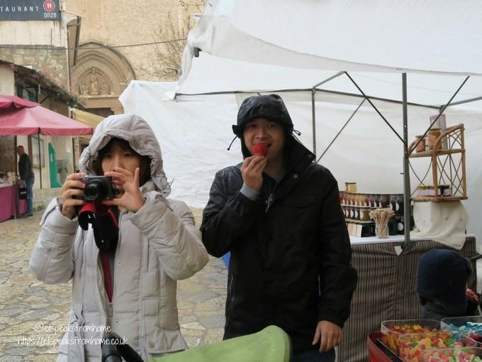 Pollensa Sunday Market, Palma eating