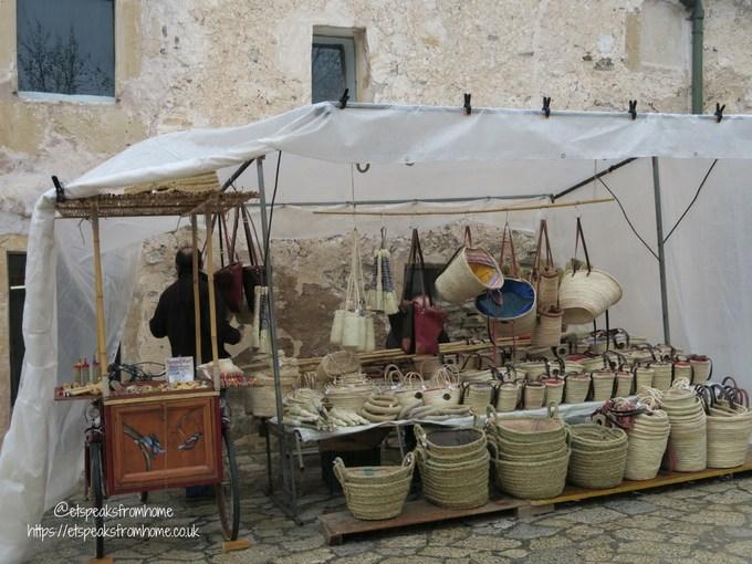 Pollensa Sunday Market, Palma stalls