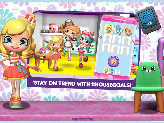 Shopkins Happy Places App Review hashtag