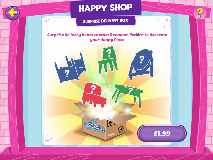 Shopkins Happy Places App purchase