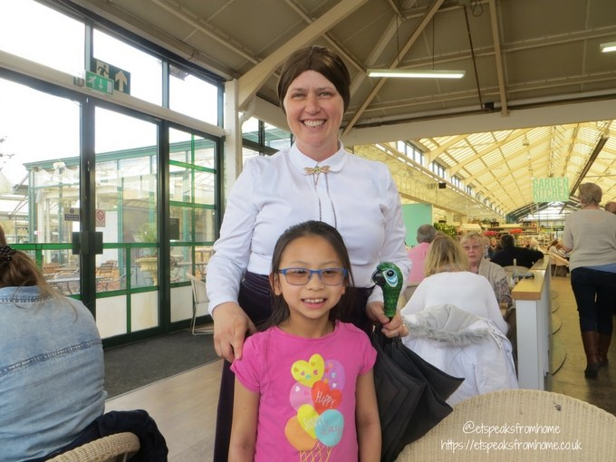 Tea with Easter Bunny at Wyevale Garden Centres marry poppins