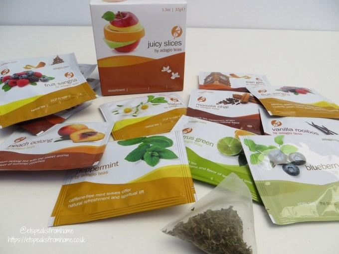 adagio teas review juicy slices