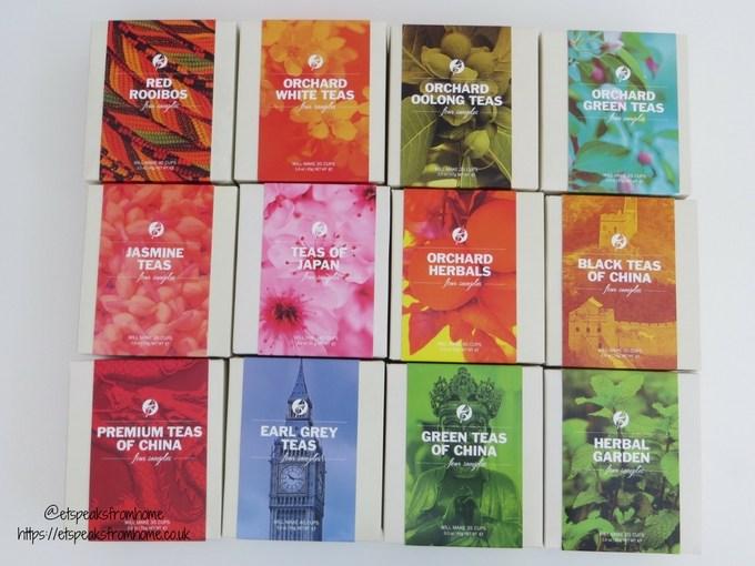 adagio teas sampler boxes