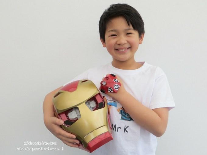 Hero Vision Iron Man AR Experience mask