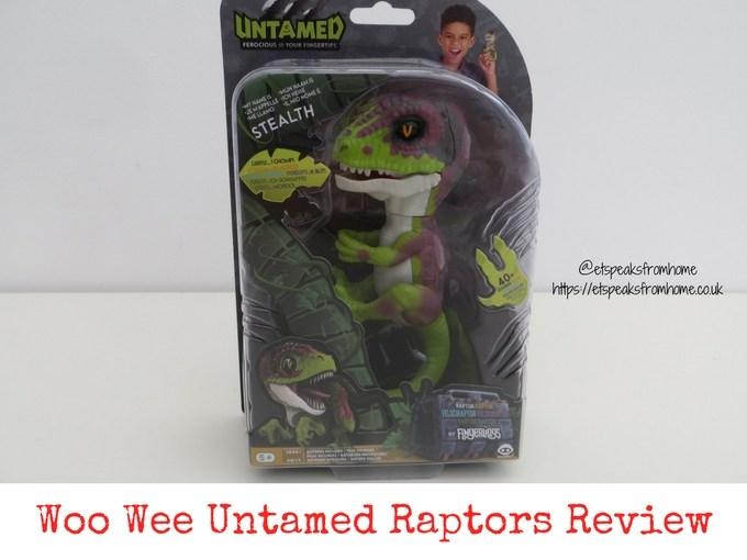 Woo Wee Untamed Raptors Review