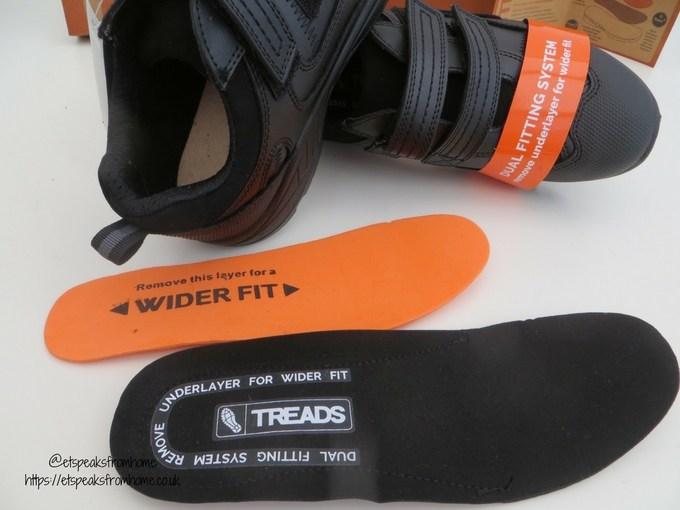 treads school shoe pad