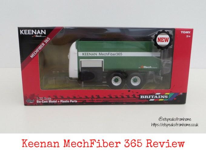 Britains Keenan MechFiber365 review