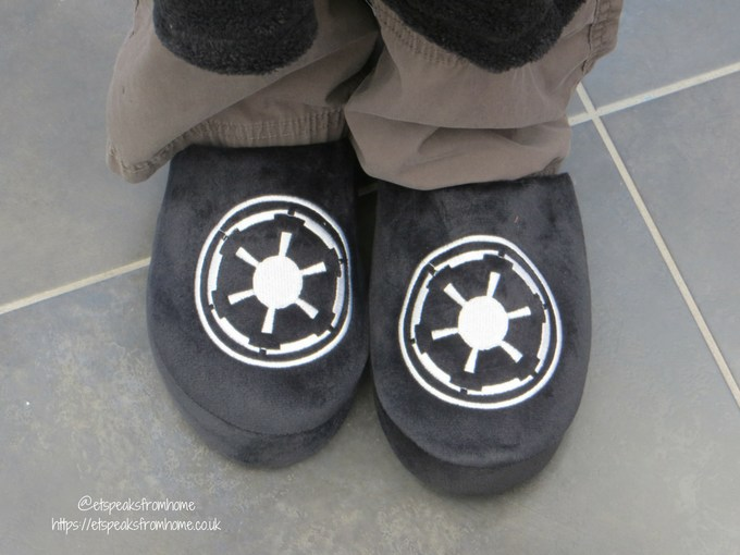 Star Wars Galactic slippers Review