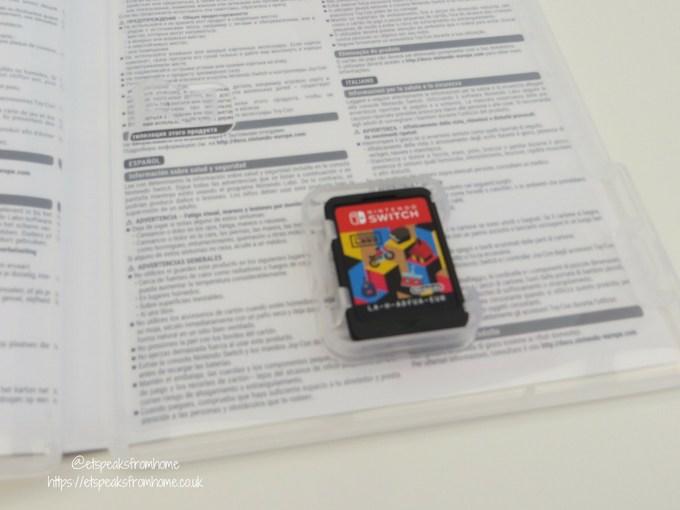 nintendo labo toy-con variety kit disc