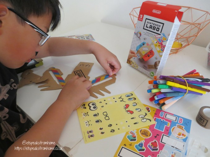 nintendo labo toy-con variety kit personlised