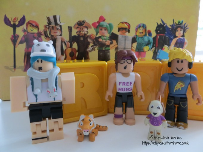 ROBLOX Celebrity Toy Review assortments