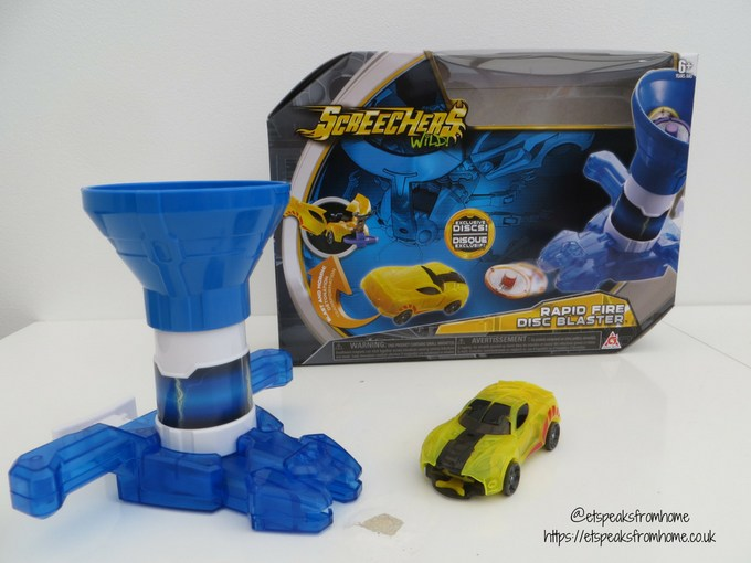 Screechers Wild Rapid Fire Disc Blaster