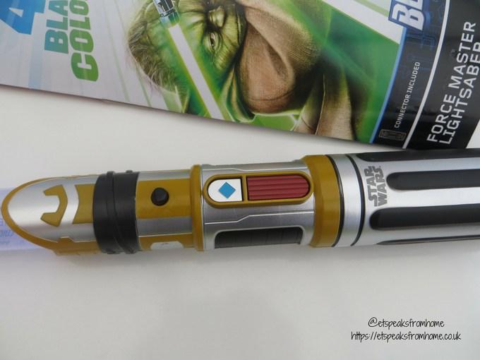 Star Wars BladeBuilders Force Master Lightsaber button