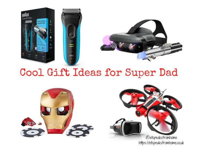 Cool gift ideas for super dad et speaks from home negle Image collections