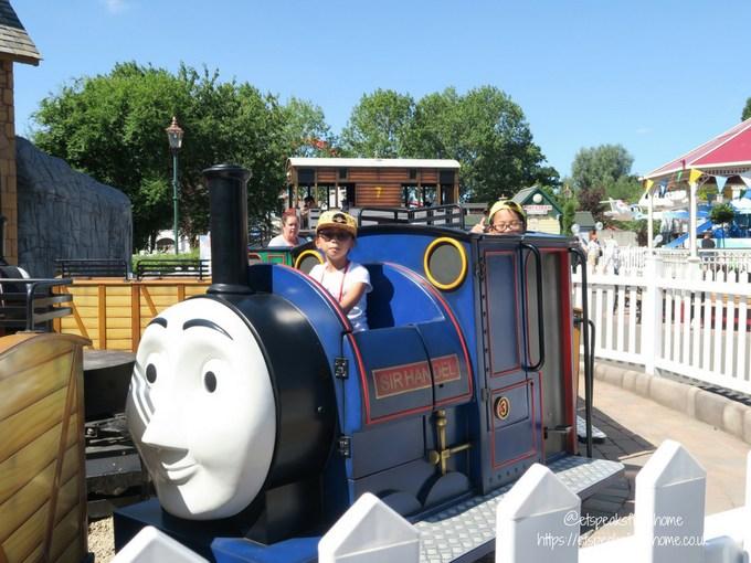 Celebrating 10th Anniversary of Thomas Land train