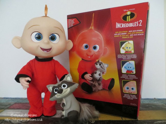 Incredibles 2 Toy from JAKKS Pacific jack-jack attack standing