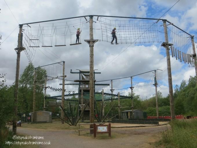Our Visit to Conkers vertigo adventure