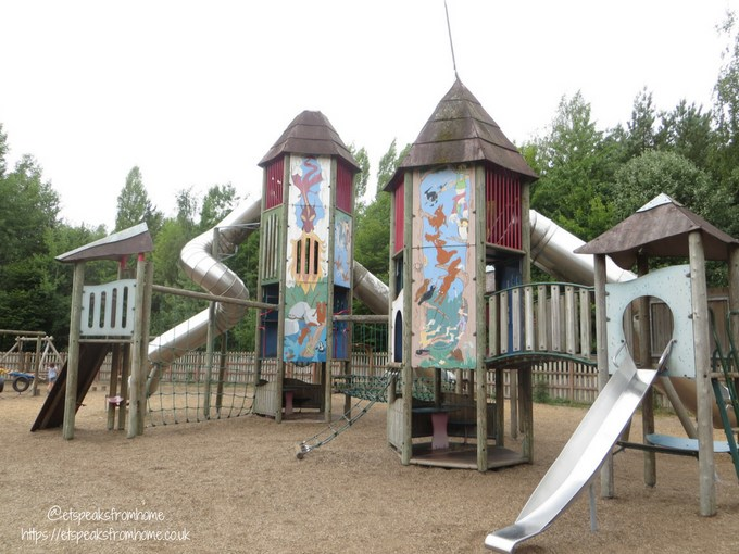 Our Visit to Conkers waterside playground