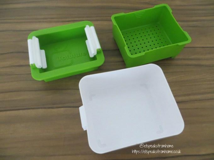 Tofuture Tofu Press containers