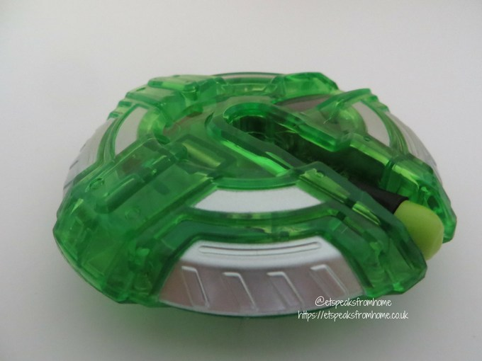 i-Top Electronic Spinning Top Game green