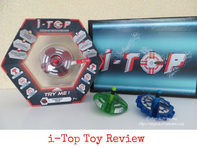 i-Top Electronic Spinning Top Game