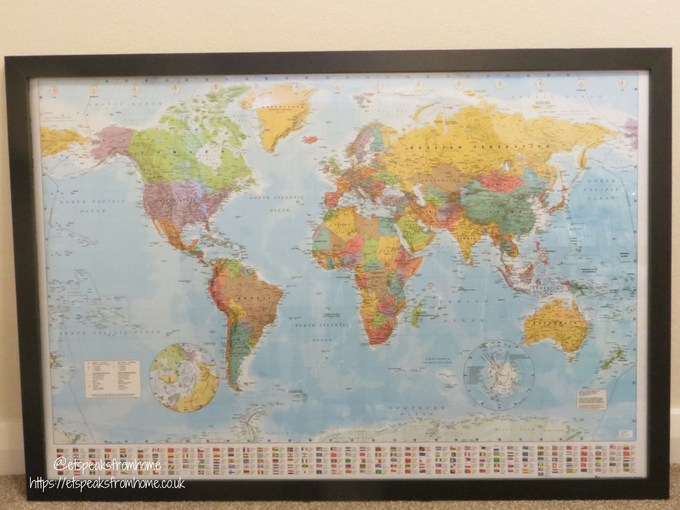 GB posters world map