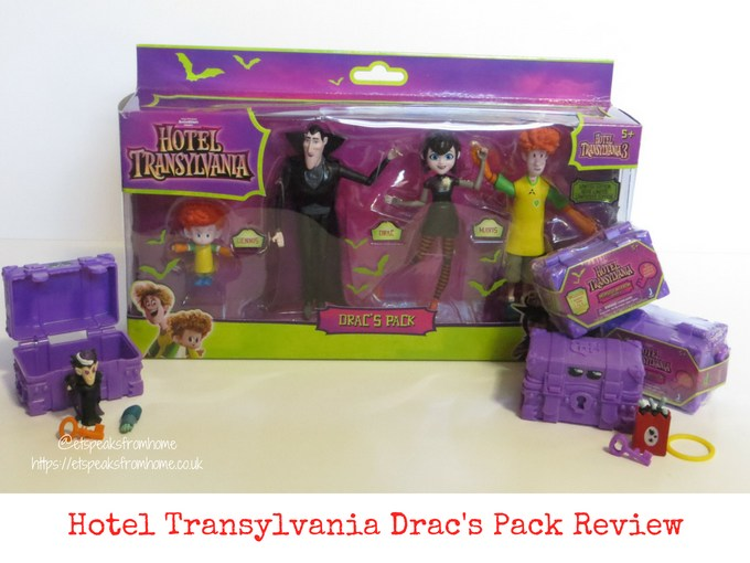 Hotel Transylvania 3 toy review drac's pack