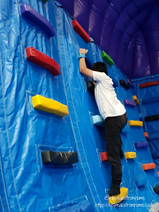 Inflata Nation Birmingham inflata wall