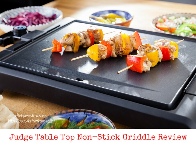Judge table top Non-Stick Griddle review