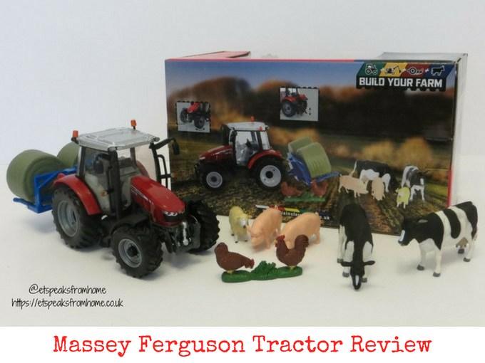 Massey Ferguson Tractor Playset Review