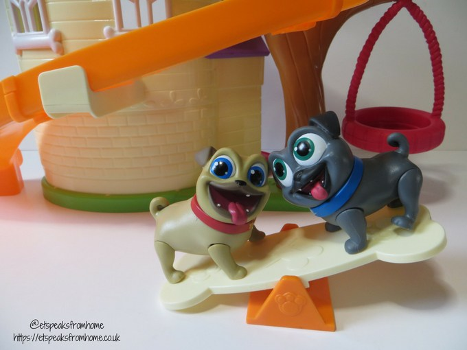 Puppy Dog Pals doghouse playset see saw