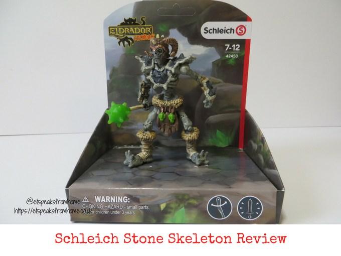Schleich Stone Skeleton Eldrador Creatures review