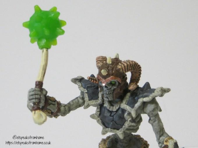 42450 Schleich Stone skeleton with Weapon Eldrador Plastic Figure