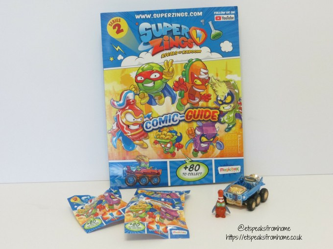 SuperZings series 2 starter pack
