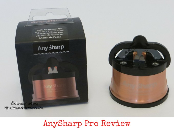 anysharp pro knife sharpener review