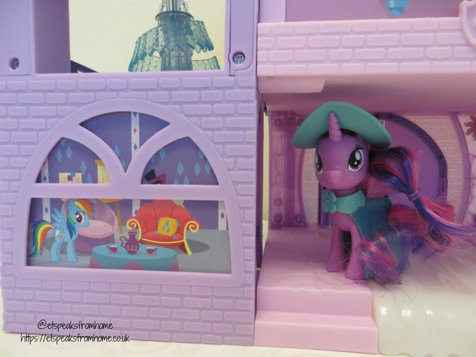mlp Magical School of Friendship playset back entrance
