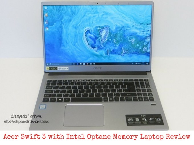 Acer Swift 3 with Intel Optane Memory Laptop Review