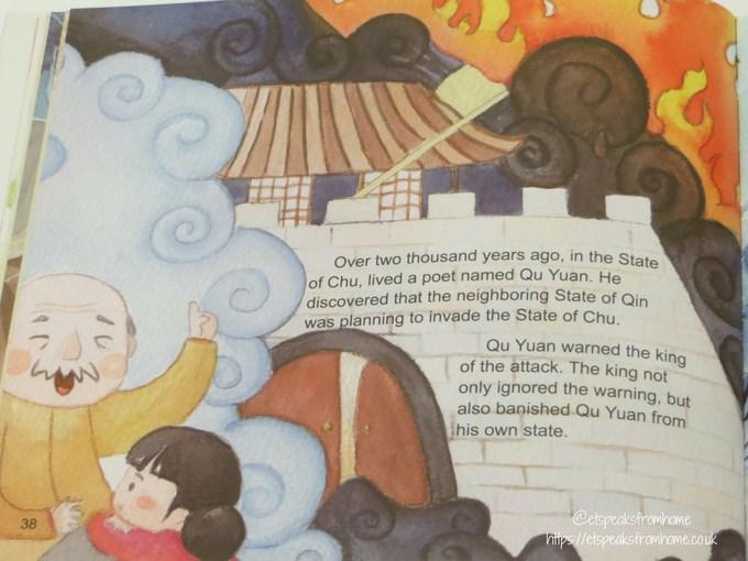 Celebrating Chinese Festivals Book story