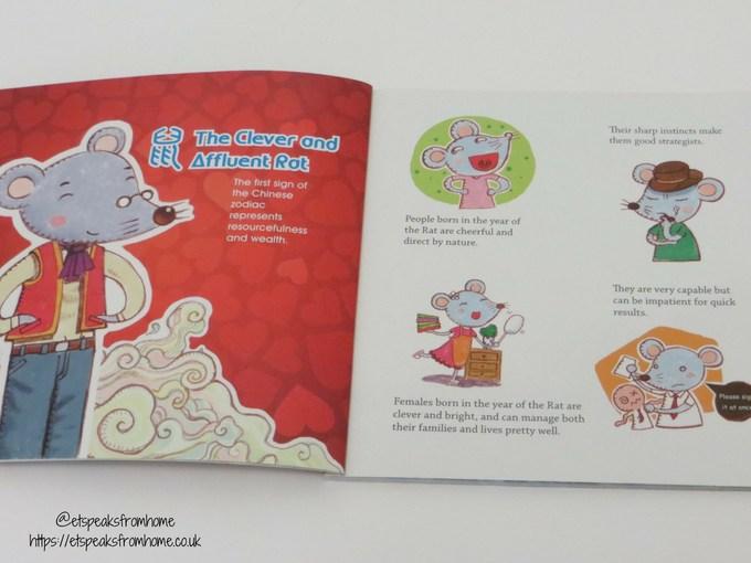Chinese Zodiac Animals Book rat