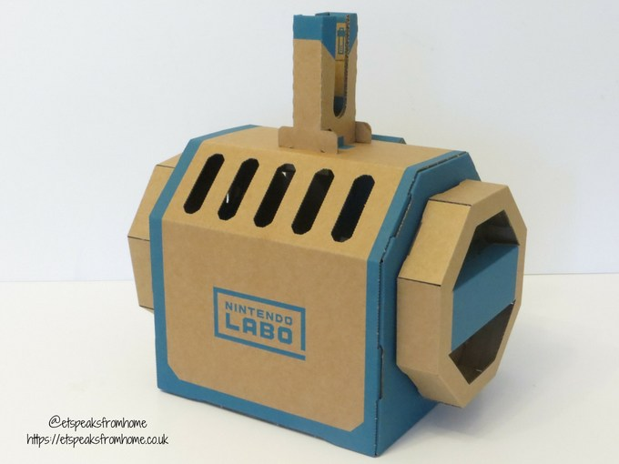 Nintendo Labo Toy-Con Vehicle Kit submarine