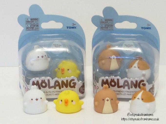 Tomy Molang Finger Figures in pack