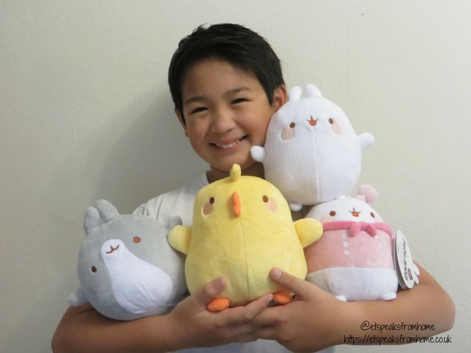 Tomy Molang Plush soft toy