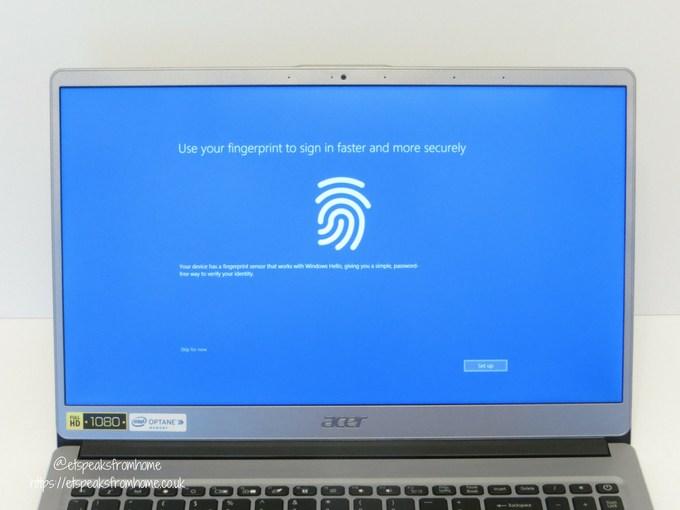 acer swift 3 15.6 16gb optane 1tb laptop screen