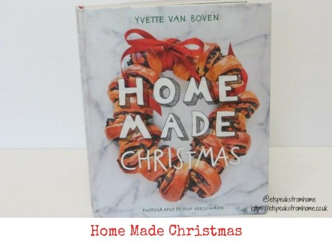 home made christmas book review