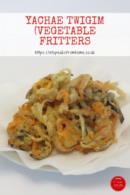 korean vegetable fritters yachae twigim