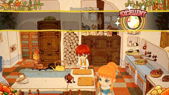 little dragons Café cooking